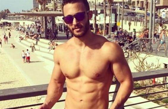 Há uma conta no Instagram dedicada a israelenses saradões comendo homus