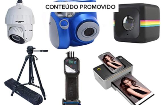 Câmeras e acessórios de fotografia no Esquenta Black Friday da Amazon