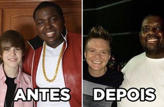 11 antes e depois de celebridades que vão fazer você se sentir velho