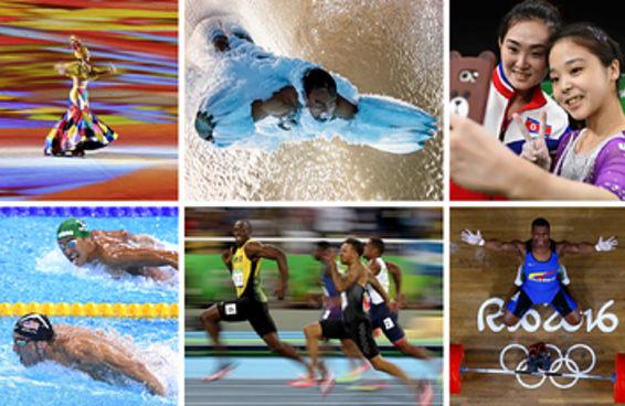 As fotografias mais impressionante dos Jogos do Rio 2016