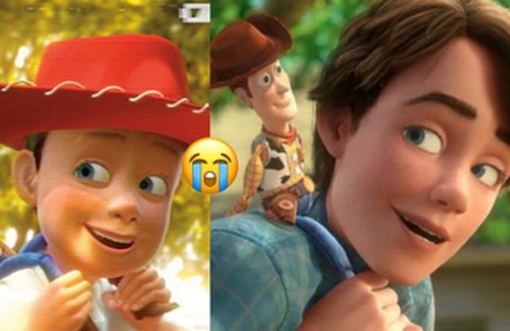 "Nada vai te abalar emocionalmente como ""Toy Story"""