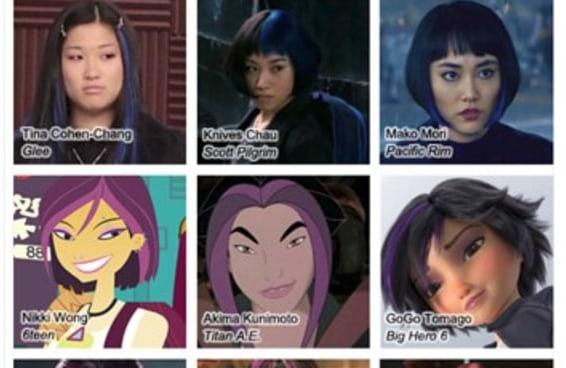 """O cabelo estereotipado de personagens asiáticas """"rebeldes"""" é um problema real"""