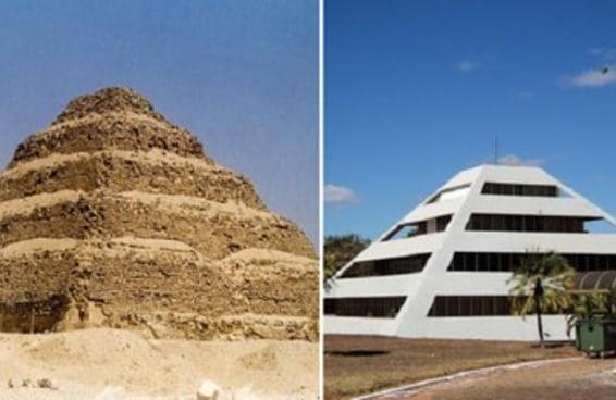 Teria Brasília sido construída inspirada nesta cidade egípicia?