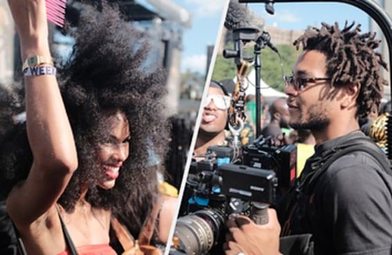Fomos ao Afropunk e mostramos que a coisa é bem preta por lá