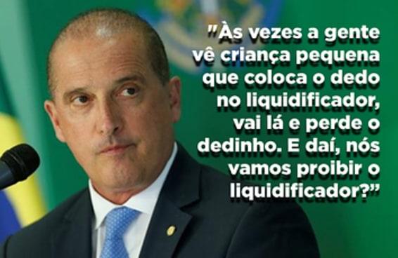 Na nova era do Brasil, arma de fogo oferece tanto perigo quanto um... liquidificador?