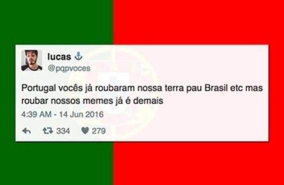 Brasileiros e portugueses estão brigando no Twitter por causa de um meme