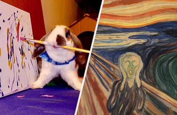 Qual obra de arte representa as profundidades do seu ser?