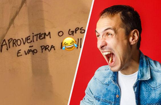 O torcedor brasileiro devia ser campeão mundial no protesto com deboche