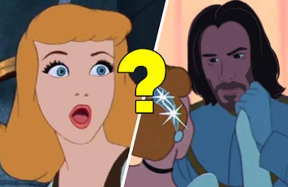 Que príncipe da Disney versão Keanu Reeves é a sua alma gêmea?