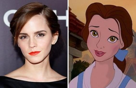 """Aqui está a primeira imagem de Emma Watson como Bela de """"A Bela e a Fera"""""""