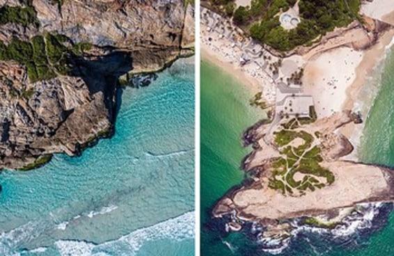 12 fotos aéreas de praias brasileiras para querer fugir de onde você está