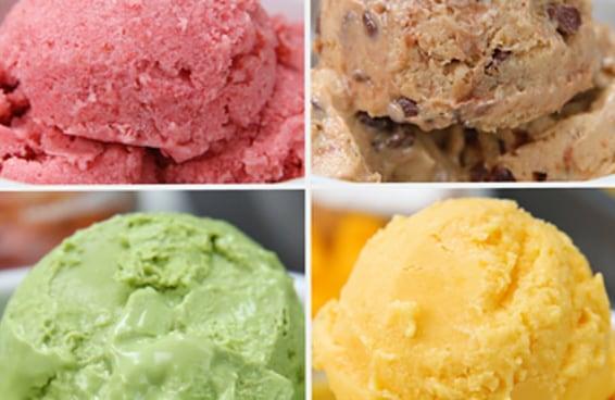 4 Versões de frozen iogurte para fazer em casa