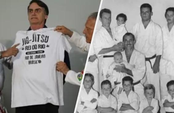 Você não gostaria de estar no meio desta briga da família Gracie por causa do Bolsonaro