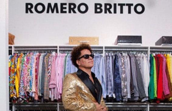 Este gif do Romero Britto vai te deixar hipnotizado