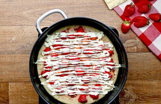 Pizza de frigideira de 3 jeitos