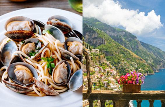 Prepare uma massa e vamos dizer quais seriam suas férias dos sonhos na Itália