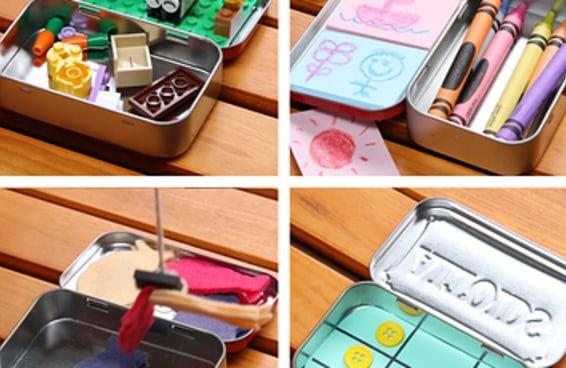 Estes mini joguinhos manterão seus filhos ocupados em qualquer situação
