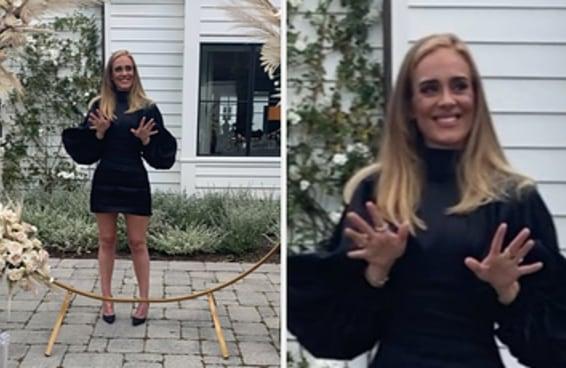 A Adele publicou sua primeira foto em 2020 e nossa única opção é aclamar essa rainha