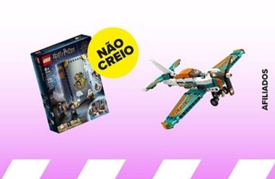 10 lançamentos LEGO® para liberar o seu modo construtor