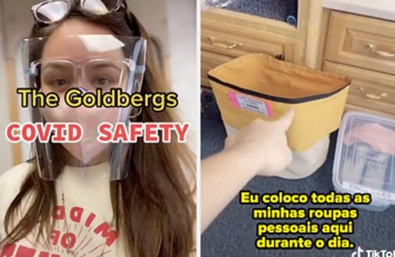 """""""The Goldbergs"""" acabou de começar a filmar a oitava temporada, e estas são as medidas de segurança que estão sendo tomadas por causa da pandemia"""