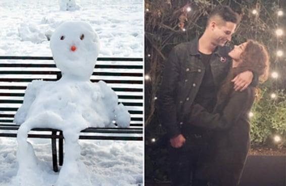 Monte um boneco de neve brasileiro e diremos o quanto seu coração é peludo