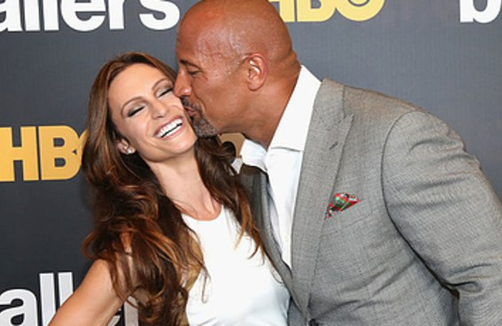 Spoiler: a família do The Rock é muito linda