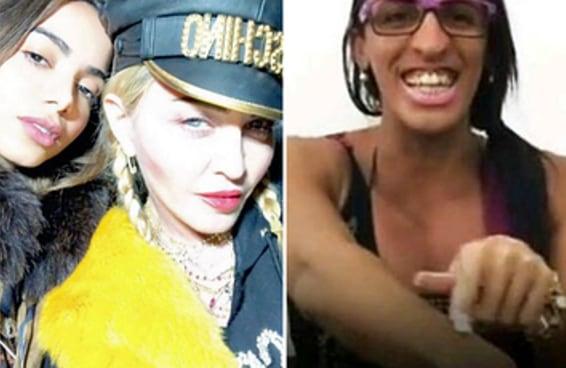 Madonna está cantando funk em português com Anitta e este momento é nosso