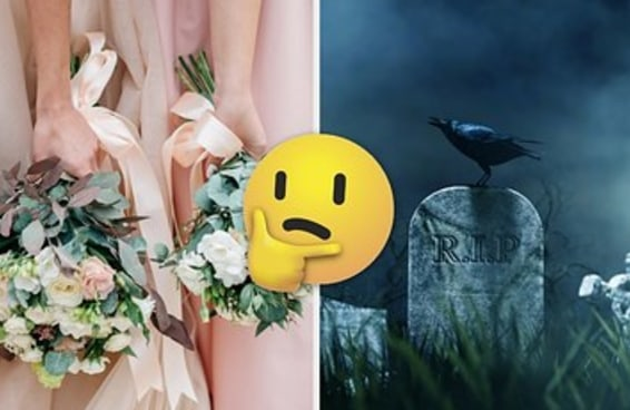 Planeje o casamento dos seus sonhos e revelaremos o dia da sua morte