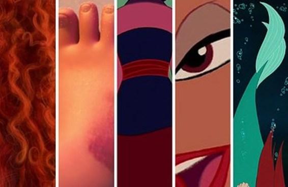 Monte um monstro com princesas Disney e diremos quantos % de maldade há no seu coração