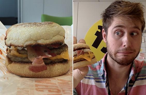 Eu comi os lanches exclusivos do McDonald's, do Burger King e do KFC do Japão