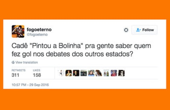 Só o Twitter para salvar uma noite de debates chatos