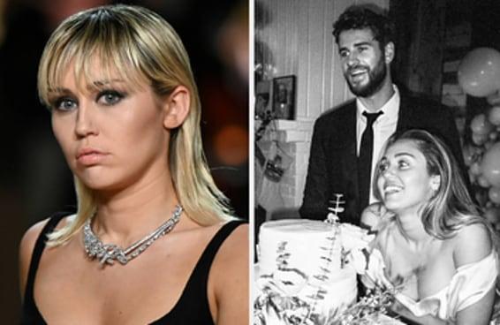 Miley Cyrus falou sobre o motivo pelo qual seu casamento com Liam Hemsworth não deu certo