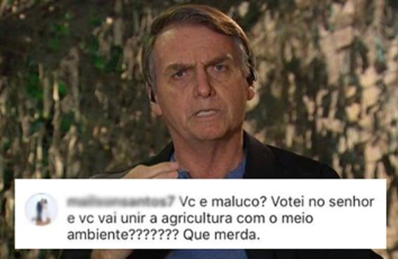 O governo de Bolsonaro nem começou e já tem eleitor do mito decepcionado