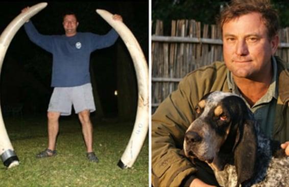 Este é caçador sul-africano que morreu esmagado por elefante no Zimbábue