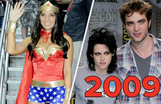 É assim que era a Comic-Con há uma década