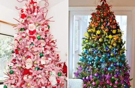 37 ideias de árvores de Natal para sair da mesmice neste ano