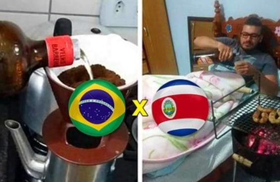 O pessoal tá doido pra SEXTAR logo de manhã com Brasil x Costa Rica