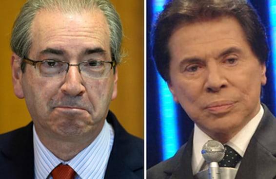 Eduardo Cunha foi o responsável por arruinar o sonho de presidência de Silvio Santos