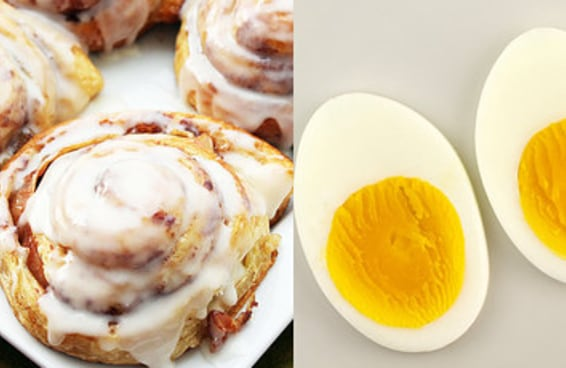 Escolha entre estes alimentos e diremos se você é uma pessoa bagunceira ou arrumadinha