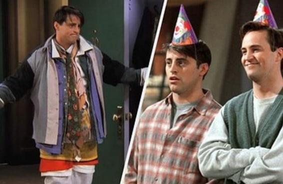 """Quantos % Joey e quantos % Chandler de """"Friends"""" você tem?"""