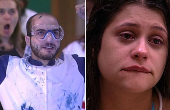 """Mahmoud e Ana Paula do """"BBB18"""" estão dividindo opiniões por conta da palavra """"viado"""""""