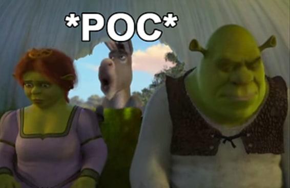Finalmente descobrimos o que significa POC