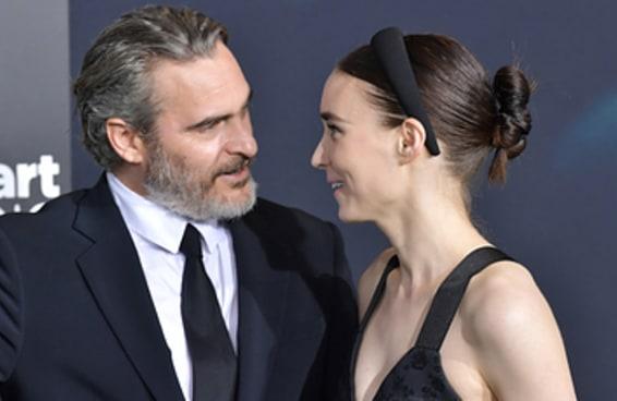 Joaquin Phoenix e Rooney Mara escolheram o nome mais fofo para seu filho