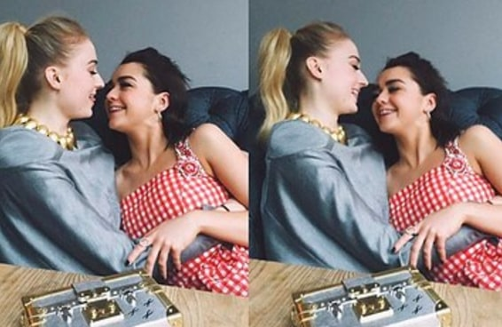 23 vezes em que Maisie Williams e Sophie Turner foram super fofas nas redes sociais