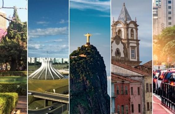 Quantos pontos turísticos brasileiros você já visitou?