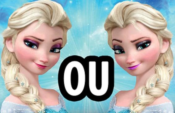 Você sabe qual personagem da Disney é o verdadeiro e qual é o falso?