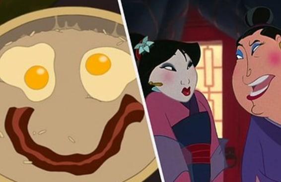 Esse teste é fácil demais para quem assistiu Mulan um zilhão de vezes quando criança