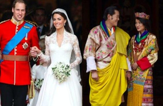 10 fatos históricos sobre casamentos reais pelo mundo