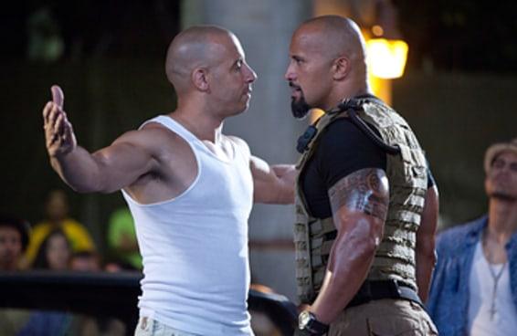 Dwayne Johnson decidiu falar sobre sua treta com Vin Diesel