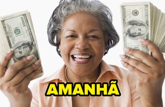Escolha onde gastar sua fortuna imaginária e diremos quando você enriquecerá de verdade